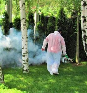 График за обработки против комари до края на месец май